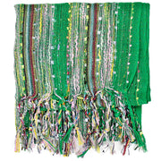 Kelly Green Metallic Dreams Scarf