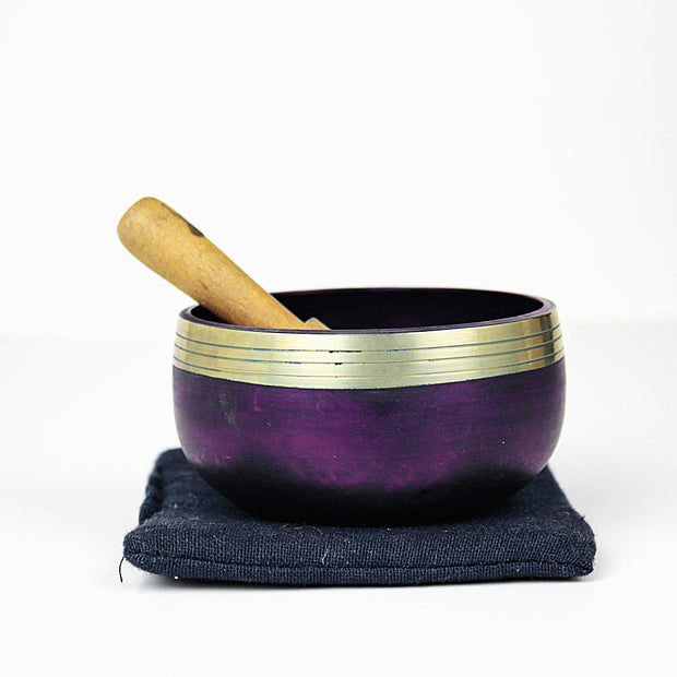 Third Eye (Cobalt) Singing Bowl Gift Set Small