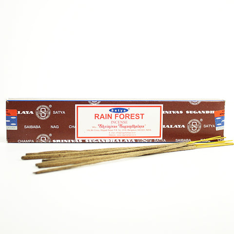 Satya Rain Forest Incense Sticks 15gr