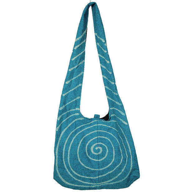 Teal Spyra Shoulder Bag