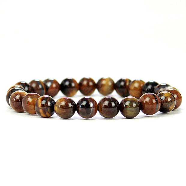 Confidence Tiger Eye 8mm Power Bracelet