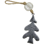 Tree Indoor/Outdoor Mango Wood Ornament