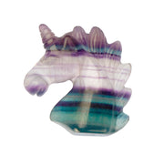 Magical Gemstone Unicorn Head