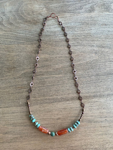 African Turquoise and Agate