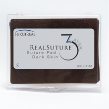 Load image into Gallery viewer, The 3-Layer Suture Pad from SurgiReal is designed to mimic the first three superficial layers of the abdominal wall; the Epidermis layer, Subcutaneous layer, and the first Fascia layer.