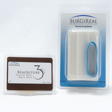 Load image into Gallery viewer, Product Bundle: Small RealSuture Pad & Tensioning Base