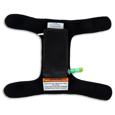 Veterinary Vascular Access Sleeve for blood draw and catheter insertion on small animals, can be worn by LIVE animals - SurgiReal - Veterinary Education