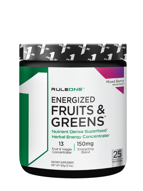R1 Energized Fruits & Greens 25 skammtar
