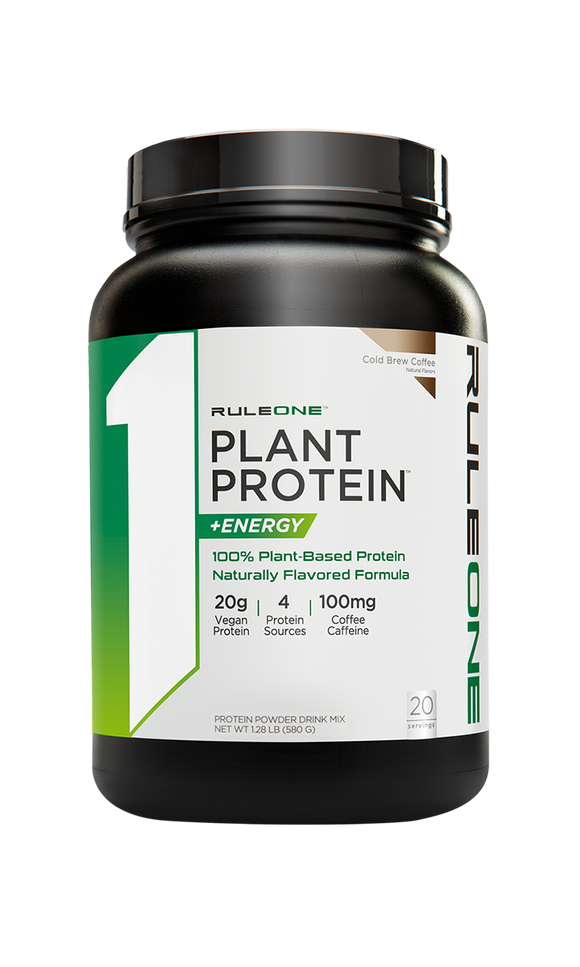 R1 Plant Protein + Energy 20 skammtar