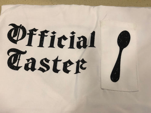 Official Taster Apron