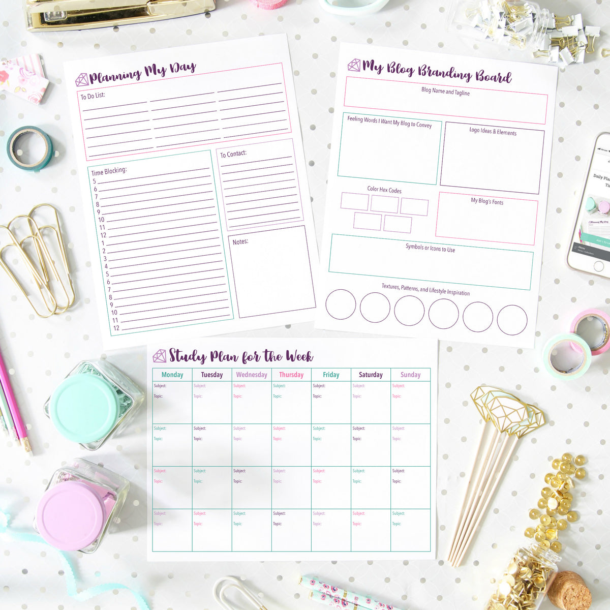 image regarding Printables Blog referred to as All Scheduling Printables Abby Organizes