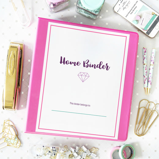 Organizing Printables Home Binder Printables Collection Abby Organizes