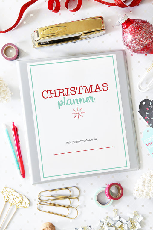 Christmas Planner / Holiday Planner, organizing printables, Christmas Planner, Holiday Planner, #printables #organizing