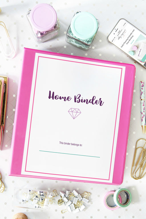 Deluxe Home Binder Printables