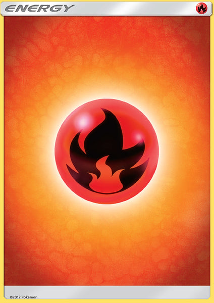 Fire Energy - Pack of 5