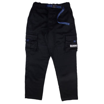 CARGO PANTS WORLDWIDE BLACK