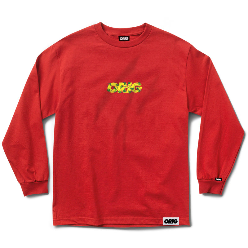 LONG SLEEVE PURPLE GUN RED LIGHT