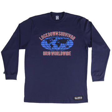 LONG SLEEVE LOCKDOWN SURVIVOR NAVY