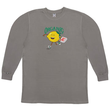 LONG SLEEVE ORGANIC ULTIMATE GRAY