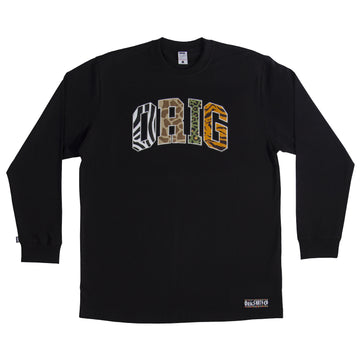 LONG SLEEVE SAVAGE BLACK