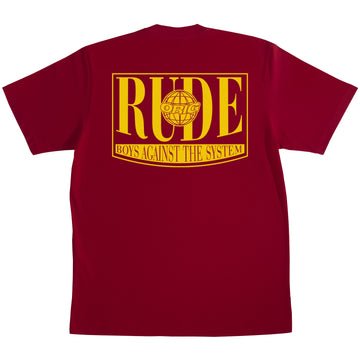 RUDE BOYS DEEP RED