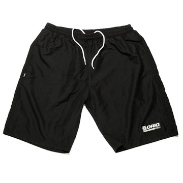 SWIM SHORTS WRLD BLACK