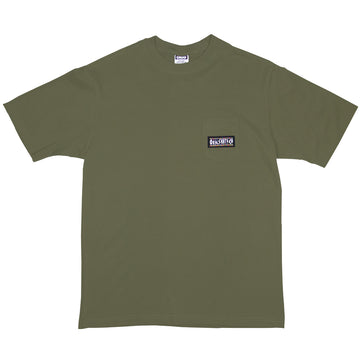 RIGHT THING POCKET TEE KHAKI