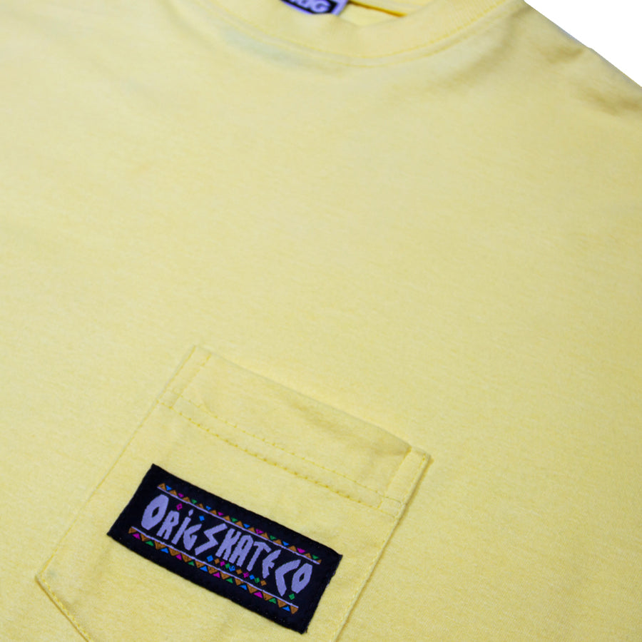RIGHT THING POCKET TEE POPCORN