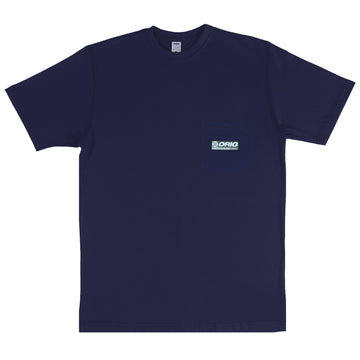 WLRD TEE POCKET NAVY