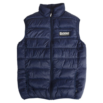 WORLDWIDE PUFF VEST NAVY