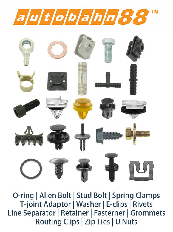 Plastic Fastener , Grommet , Rivet and Clips