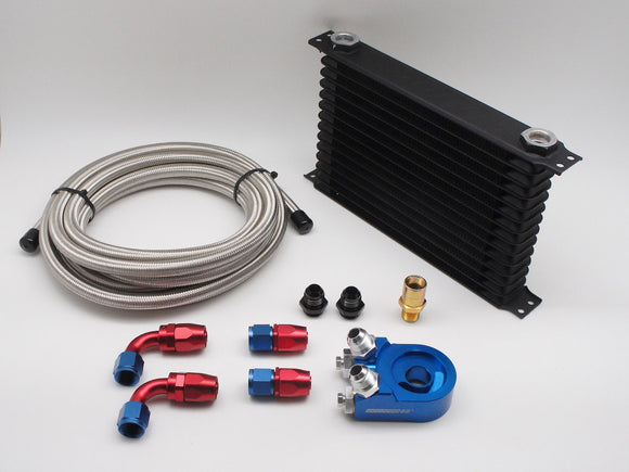 Universal Racing Oil Cooler Combo Set, Multiple Size