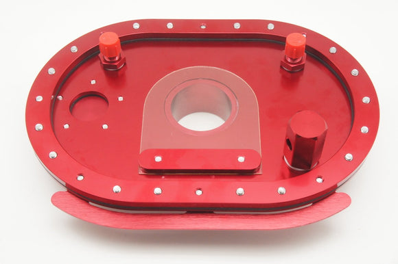 Alloy Racing Fuel Cell Fill Plate 6x10