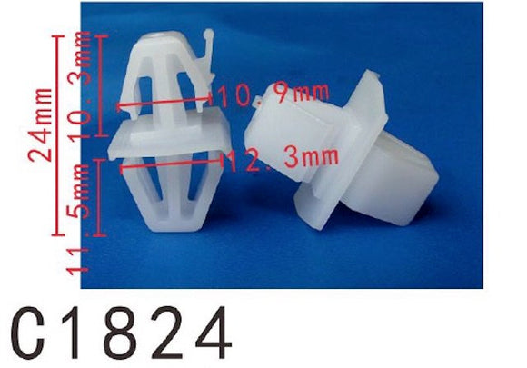 20PCS AUTOBAHN88 SIDE SKIRT Retainer Clip Fit For VOLVO