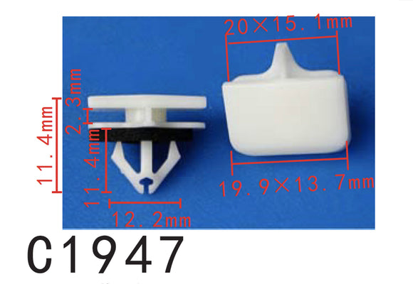 20pcs molding Clip with Sealer?Fit Ford Lincoln Navigator 2003- On W710528S300