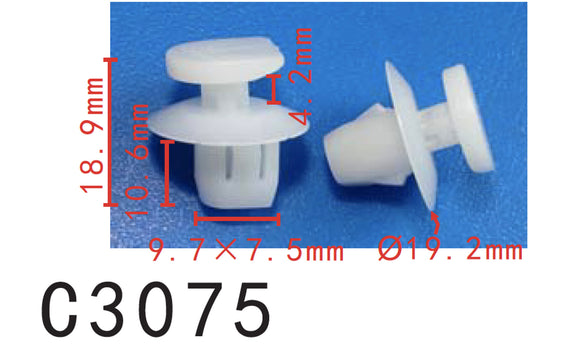 20pcs Fit Fit Nissan Tail Lamp Assembly Clip 2639-ED000- Autobahn88