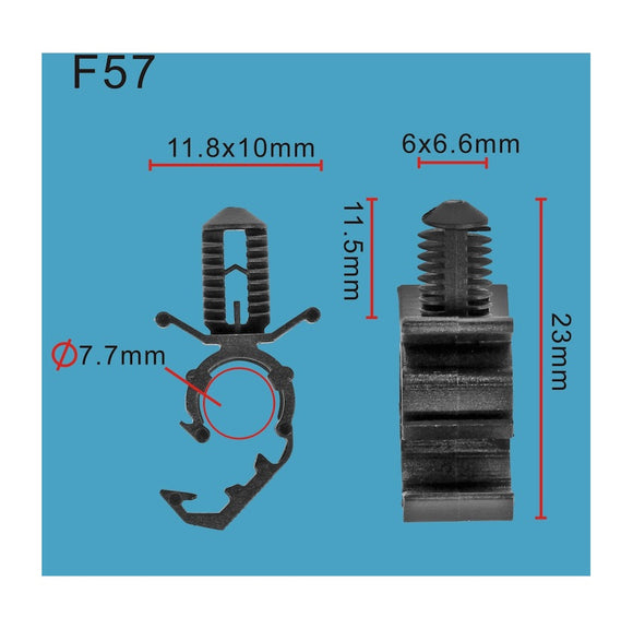 20pcs Cable Clip Fit Ford GN1517K605GA06 by Autobahn88