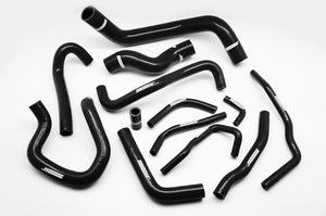 Silicone Radiator Coolant & Heater Hose Kit for 1989-1999 Nissan Silvia S13 SR20DET 200SX