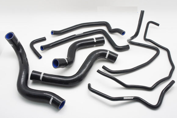 Silicone Radiator Coolant & Heater Hose Kit for 2003-2012 Mazda RX8 SE3P 13B MSP