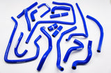 Silicone Heater Hose / Intercooler Hose Kit for 1998-2001 Subaru Legacy B4 BE5 BH5 EJ20 EJ25 Type A-C