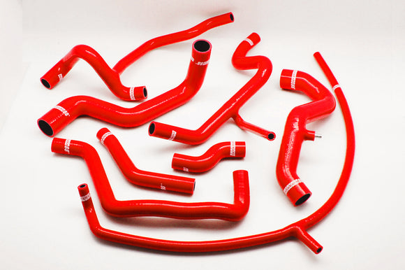 Silicone Heater Hose Kit for 1991-1995 VW Carrado 2.8L SOHC NA ABV Engine