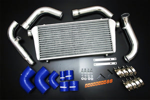 Front-Mount Intercooler Complete Kit, for Nissan Silvia S13 180SX CA18DET, 1989-1994