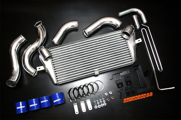 Front-Mount Intercooler Complete Kit, for Mazda RX7 FD3S 13B REW, 1992-2002