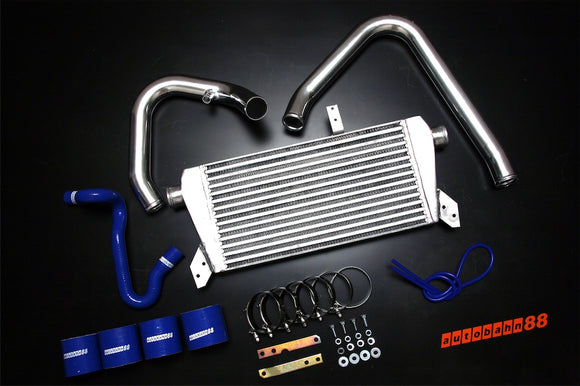 Front-Mount Intercooler Complete Kit, for Volkswagen VW Golf Passat Jetta MK4 1.8T, 1998-2004