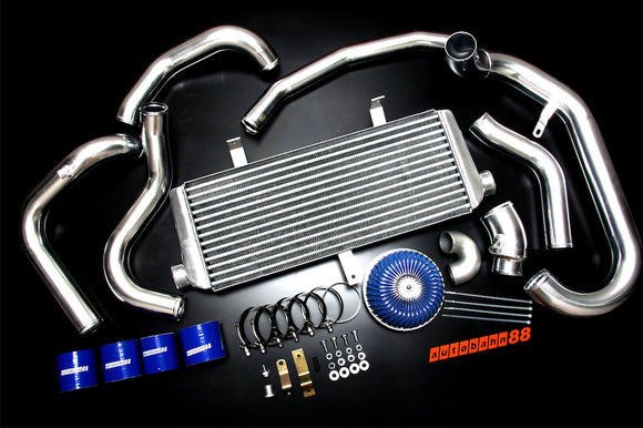 Front-Mount Intercooler Complete Kit, for Subaru Impreza GC8 EJ20 Ver 1-2, 1992-1996