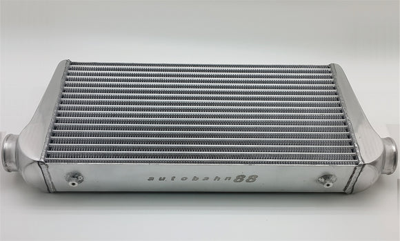 Universal Intercooler Unit, Tube & Fin Core, Core Size 600mm x 300mm x 100mm (24