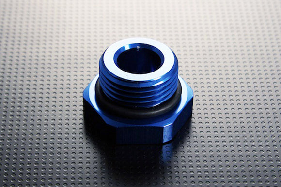 Alloy Male Blanking Plug, Blue, Multiple Size