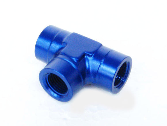 Alloy NPT Female to NPT Female Pipe, Tee - Multiple Size