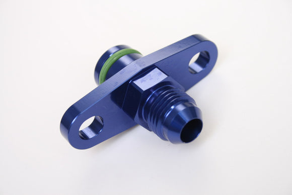 Alloy Fuel Rail Adapter, Fuel Regulator Adapter, Blue, Multiple Size