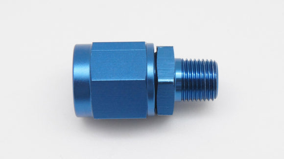 Alloy Sensor Fitting, 6AN Female Swivel to 1/8
